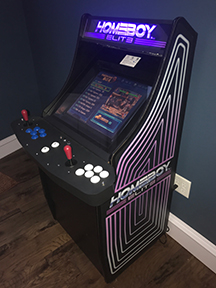 HOMEBOYELITE ARCADE GAME