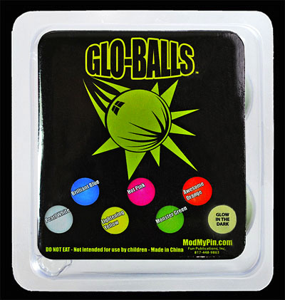 Glo-Balls in Package